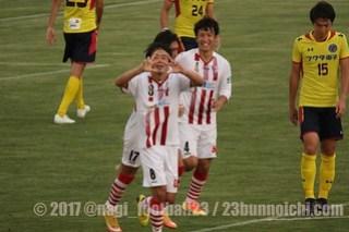 2017/7/22 東京23FC vs 東京ユナイテッドFC