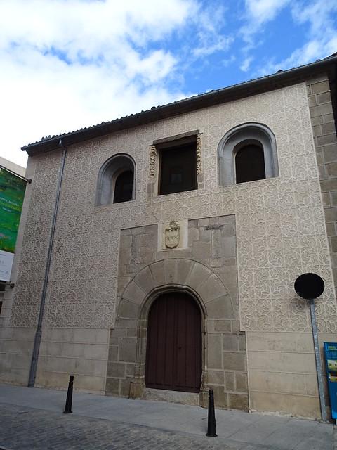 Segovia fachada Museo de Arte Contemporaneo Esteban Vicente