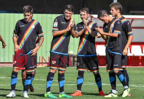 Rayo B 1-0 CD El Álamo (pretemporada)