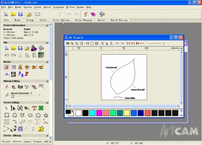 Phần mềm thiết kế và gia công điêu khắc artcam 9.0 pro