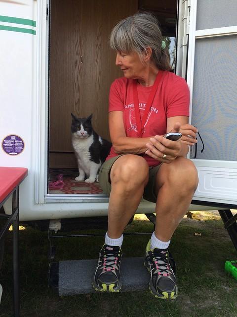 Billings Cat and Linda
