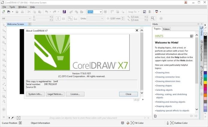 Thiết kế quảng cáo với phần mềm coreldraw graphics suite x7