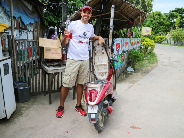 Alquilar moto en Bantayan