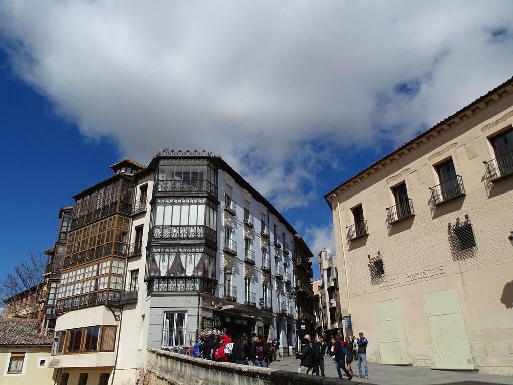 Segovia Mirador de la Canaleja Teatro Cervantes en calle Cervantes 01