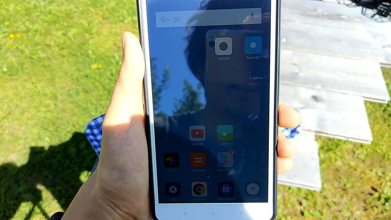 Xiaomi mi max 画面の見やすさ