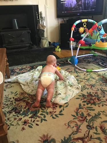 planking baby diaper