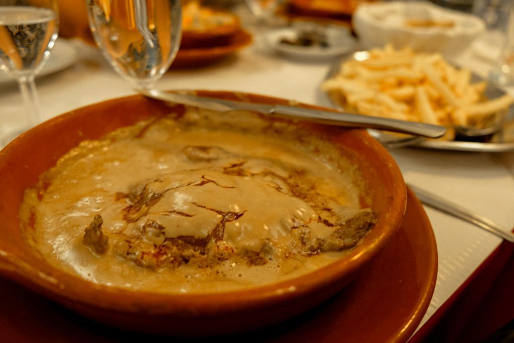 Main dish in Sintra