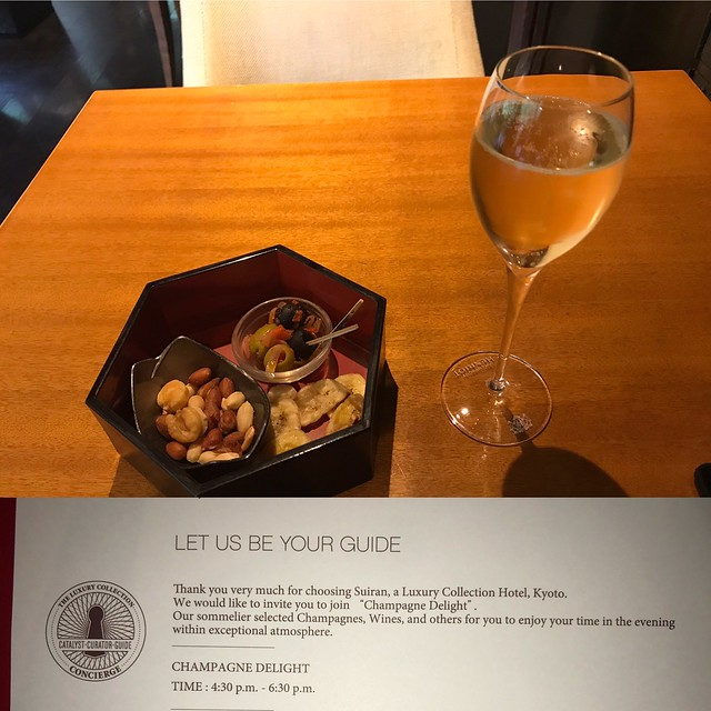 Champagne Delight - Suiran Kyoto