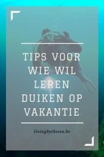 Tips voor wie wil leren duiken op vakantie