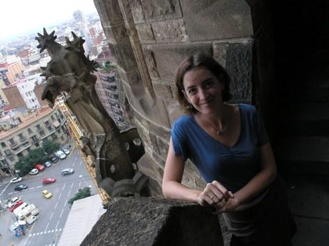 Barcelona Sagrada Familia vista Andrea