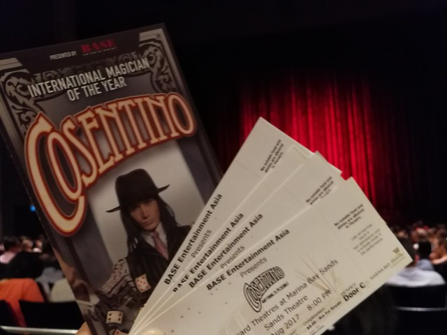 Cosentino Magic Show
