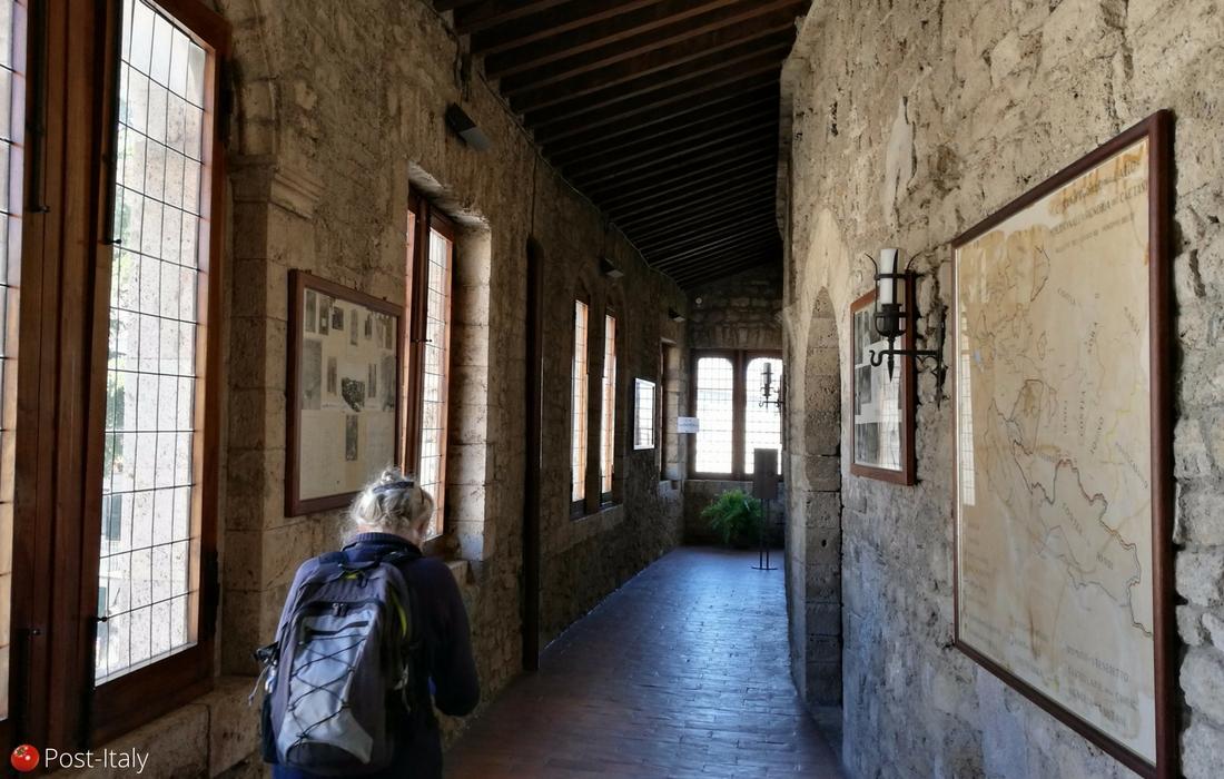 Anagni, Sala do Tapa