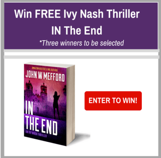 IN The End - An Ivy Nash Thriller Book Tour
