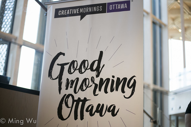 CreativeMornings With Alexander Shelley