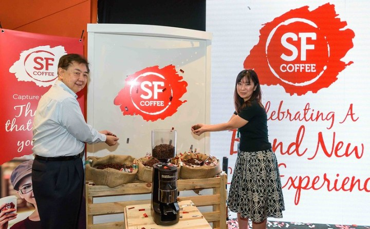 Dato' Jaya and Sue San spill the bean on SF Coffee new look