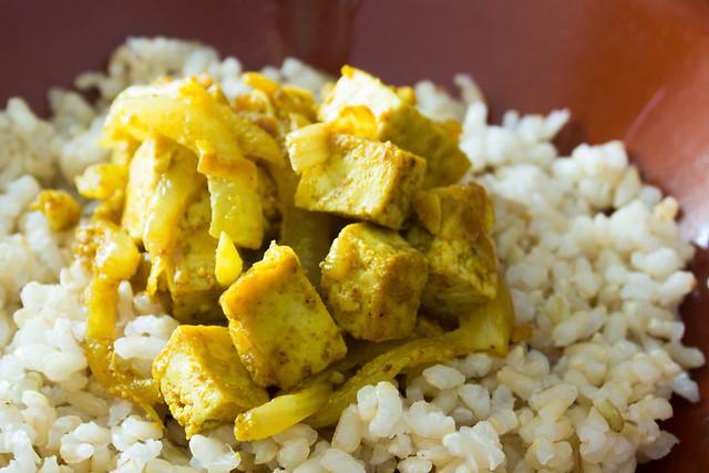Tofu moruno