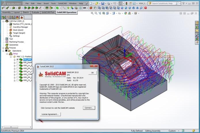 Phân tích chiến lược chạy dao gia công 3D với solidcam 2015 full crack
