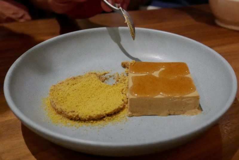 Sunflower Seed Parfait, Sour Honey, Bee Pollen, Licorice ($13)