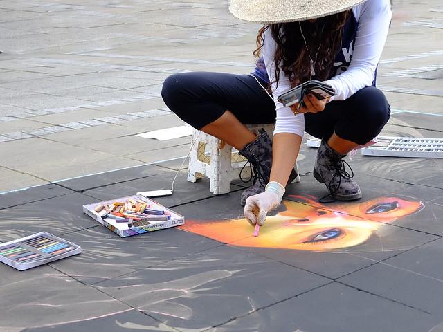 Artist at work DSCF0442 PDI