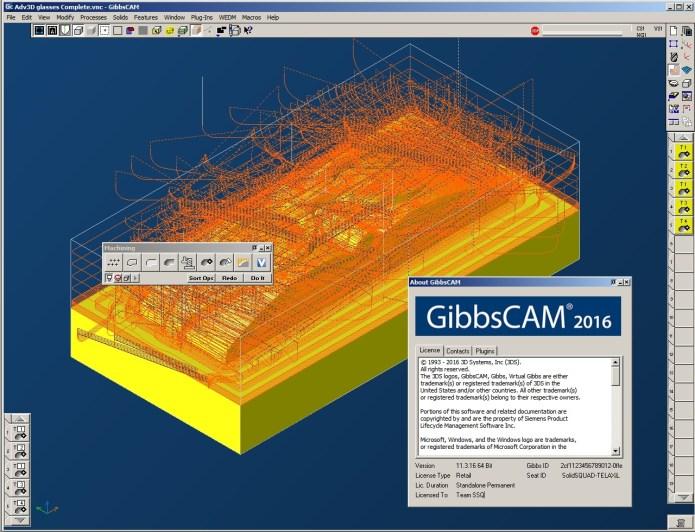 Lập trình gia công với GibbsCAM 2016 full crack