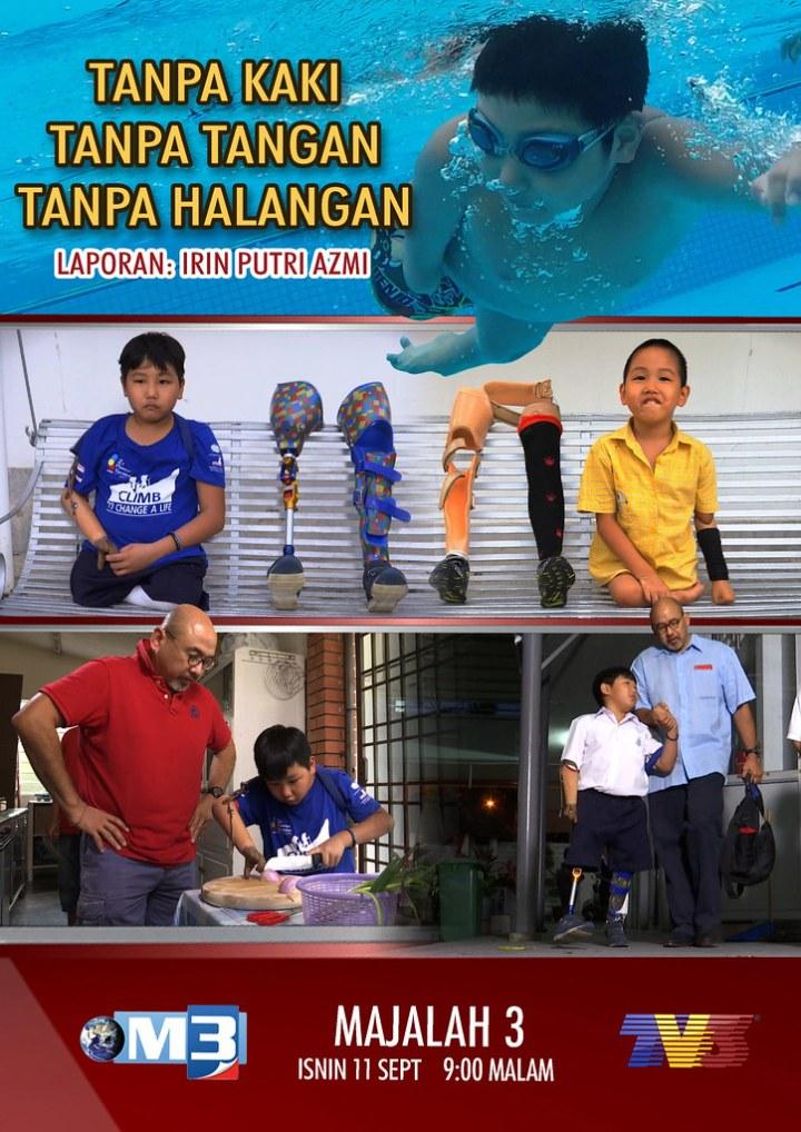 Kisah Inspirasi Menarik TANPA KAKI, TANPA TANGAN, TANPA HALANGAN Dalam Majalah 3