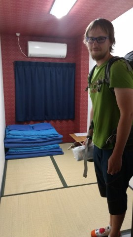 Our economy Japanese twin room