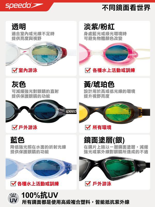 泳鏡顏色選擇