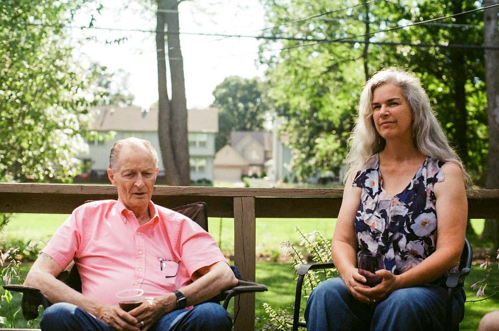 Dad & Margaret