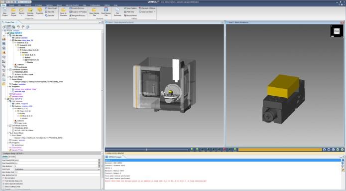 Thực hành gia công CNC với vericut 8.0