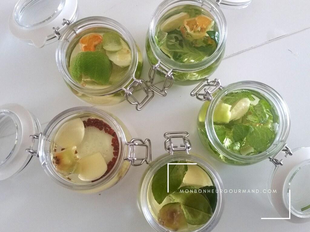 5 huiles aromatisées pour les vinaigrettes
