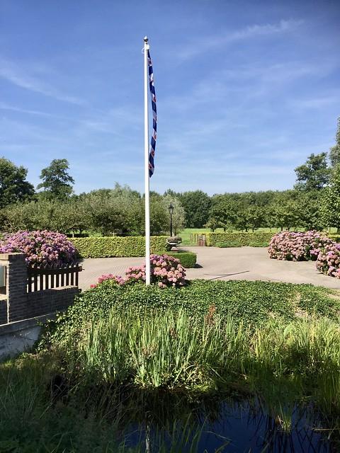 Vlaggen mast Friese vlag