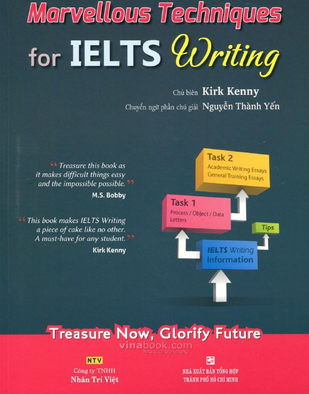 Download cuốn sách MARVELOUS TECHNIQUES FOR IELTS WRITING bản đẹp nhất
