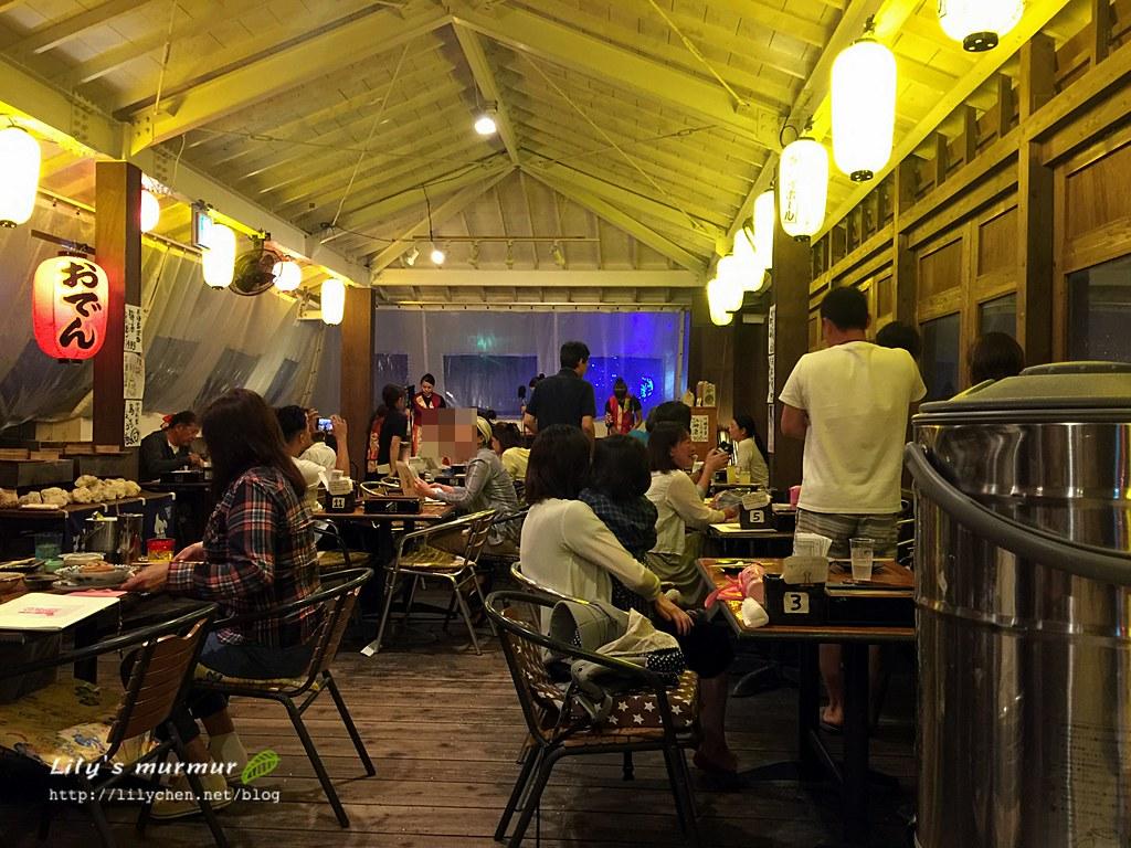 到谷茶灣海洋公園飯店的「島唄」居酒屋感受海邊居酒屋風情