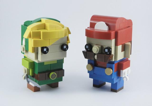 Link & Mario