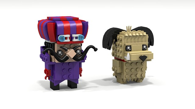 Brickheadz Dick Dastardly & Muttley