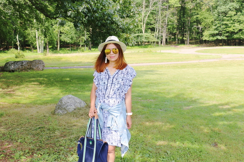 denim-jacket-blue-dress-coverup-straw-hat-3