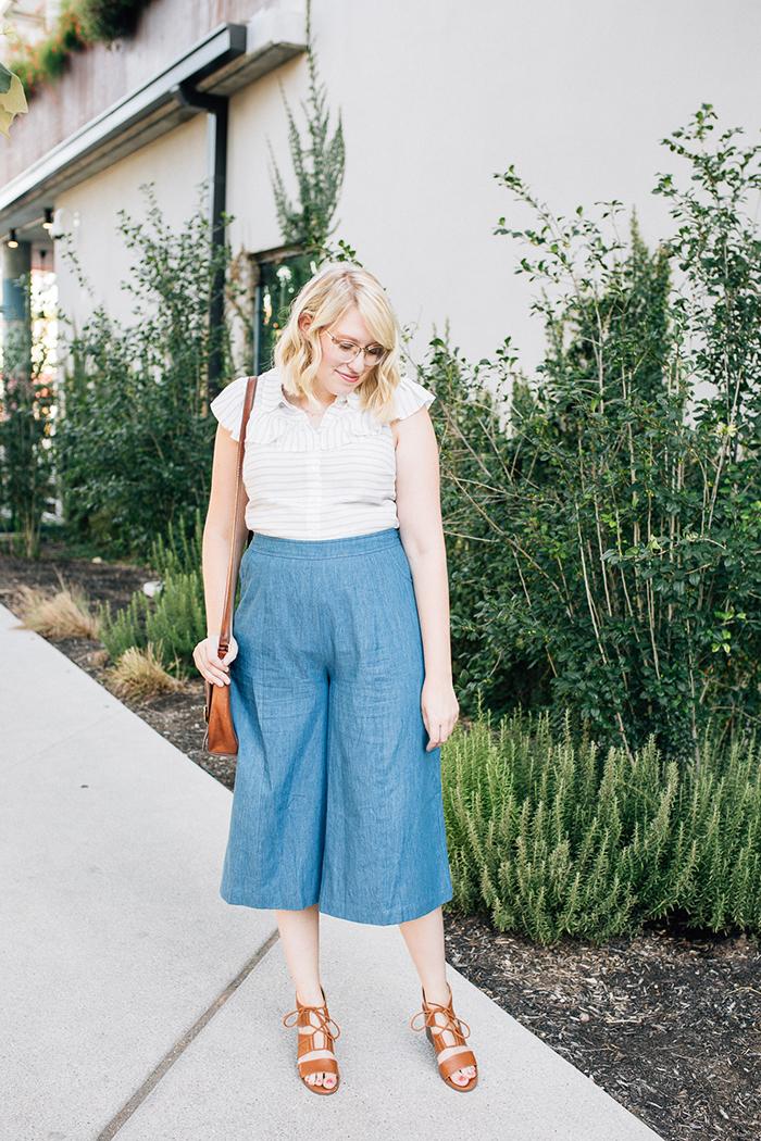 austin fashion blog writes like a girl modcloth chambray culottes10