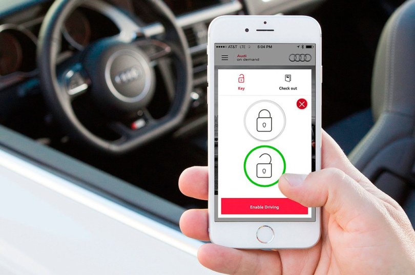 Auto Keys To Be Replaced With Mobile Phone Apps