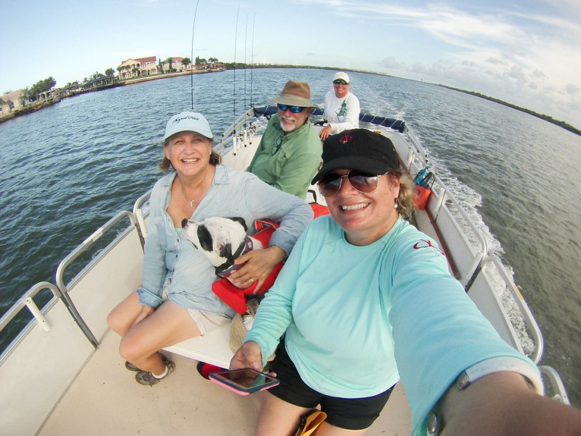 Fishing with Capt. Rachel Reynolds, R&R Charters, Port Orange, Daytona Beach, FL, July 14, 2017