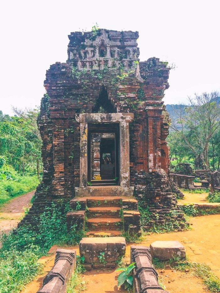 My Son Sanctuary, a UNESCO World Heritage Site Near Hoi An in Vietnam