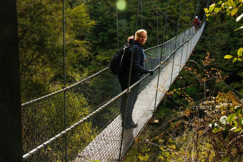Falls River Hængebroen