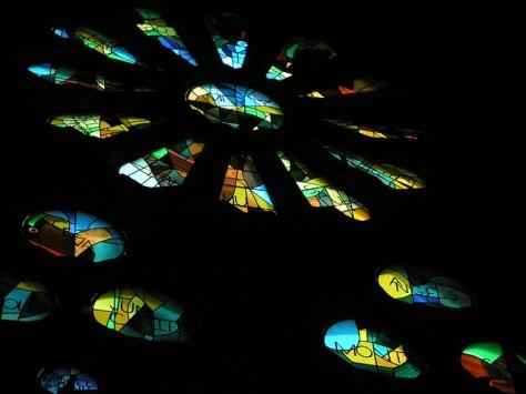 Barcelona Sagrada Familia stained glass2