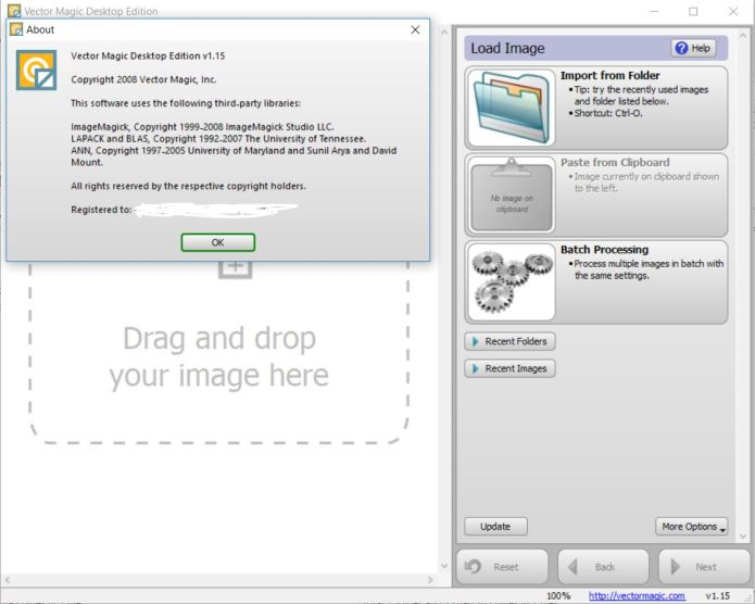 Working with Vector Magic Desktop Edition 1.15 full license
