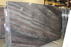 Elegant Brown Quartzite Countertop Slabs