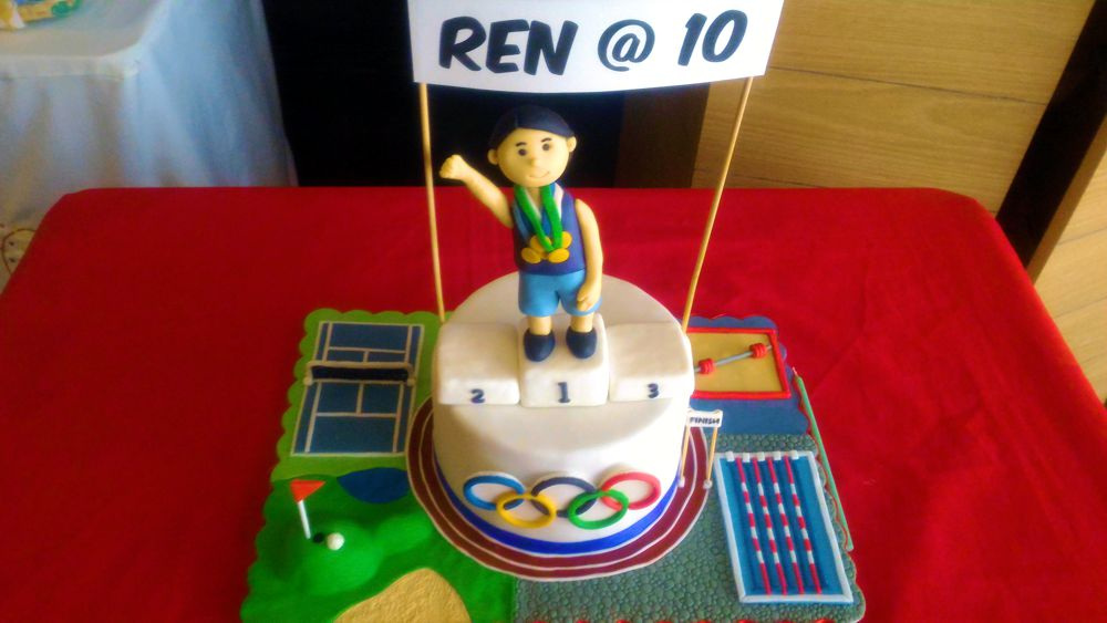 Olympic Theme Party 4