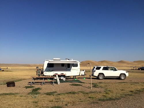 Grasslands West block camper