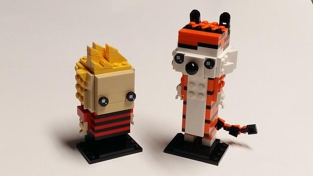 Brickheadz - Calvin and Hobbes