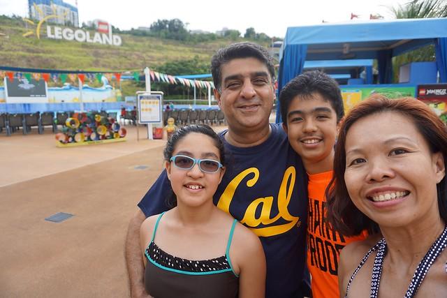 Legoland Water Park Family