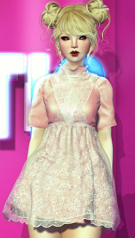 I shall wear my best pink party dress