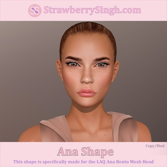 StrawberrySingh.com Ana Shape